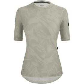 Santini Delta Gravel Tech T-Shirt Women, srebrny